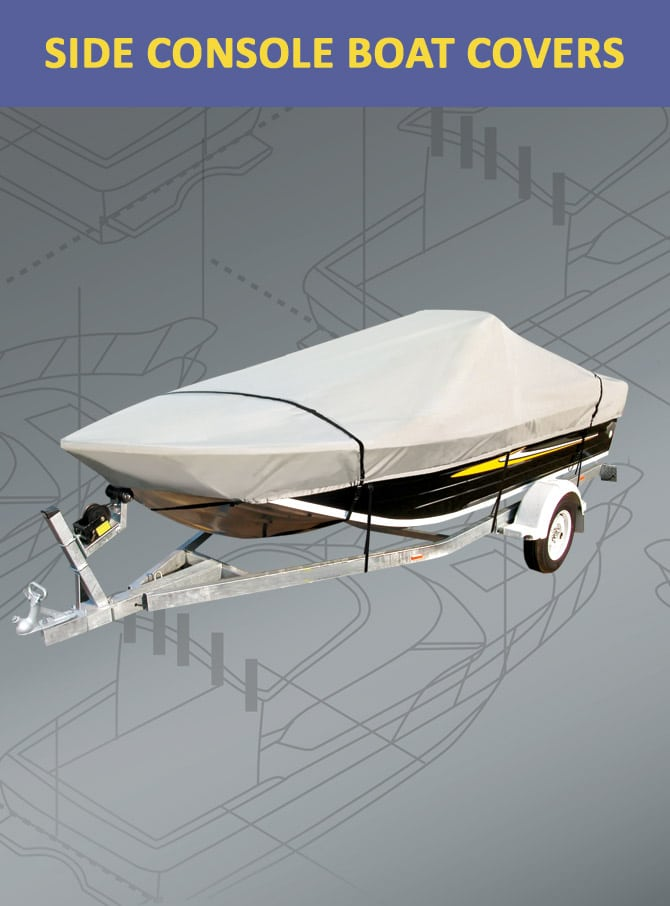 Side Console Boat Covers
