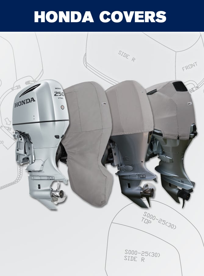 Oceansouth Covers for Honda Outboards