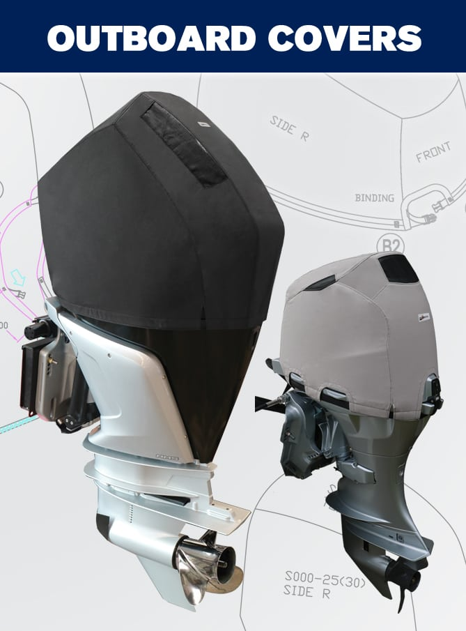 Oceansouth Outboard Motor Covers