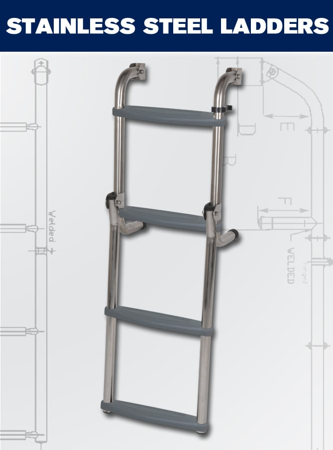 Boarding Stainless Ladders