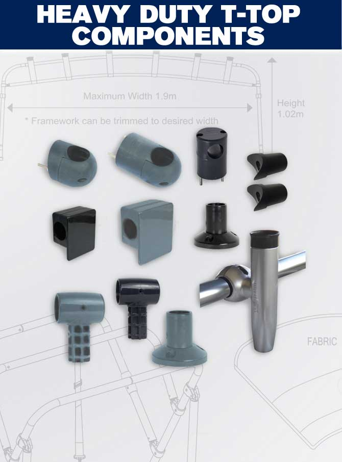 Heavy Duty T-Top Components