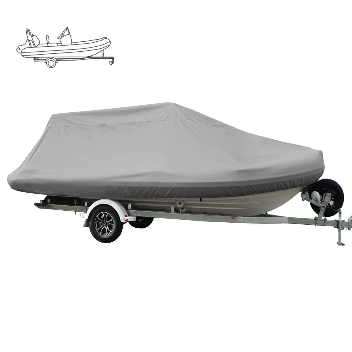 Oceansouth Boat Covers Rib